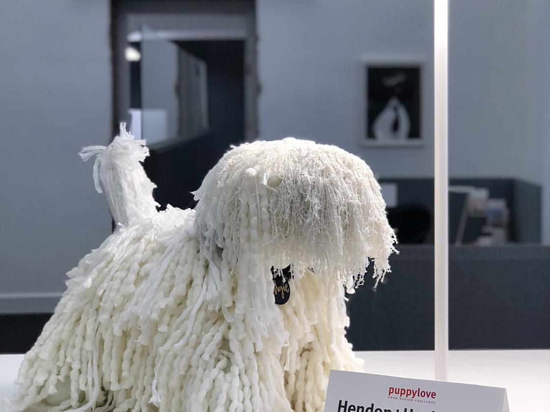 Hendon Huckstein dog figurine