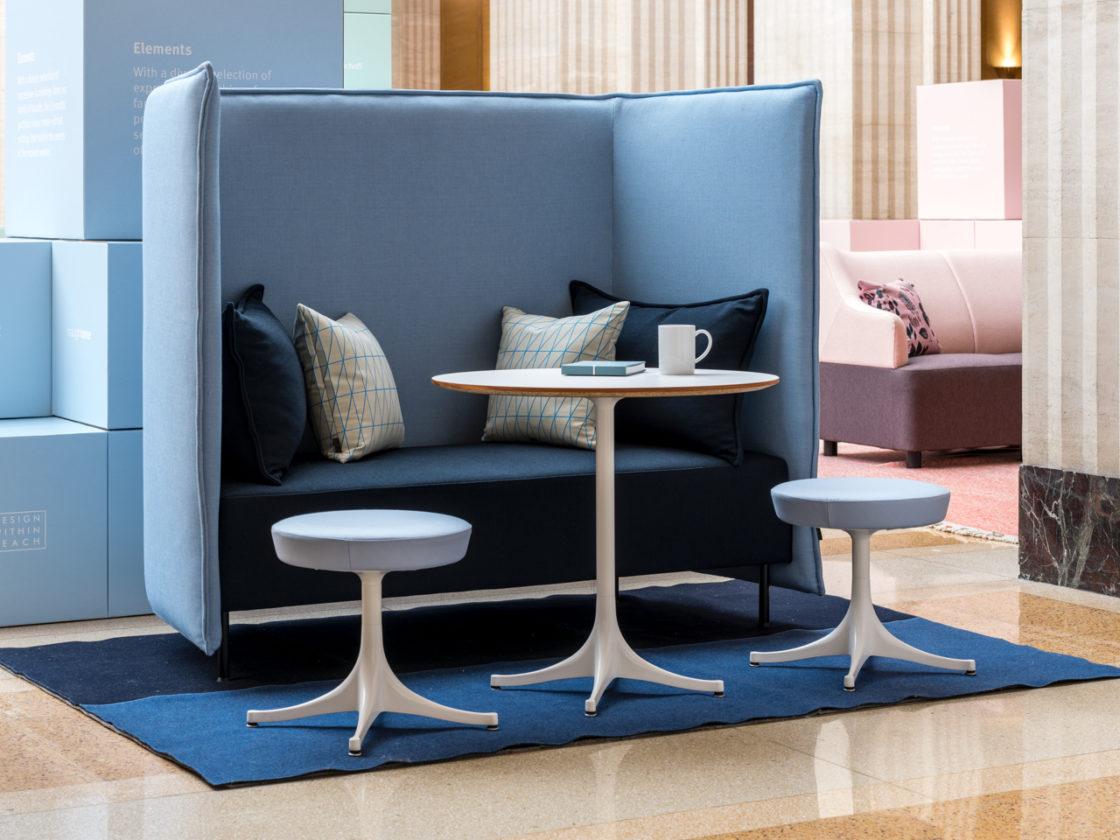 Herman Miller blue office element