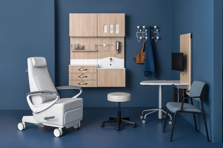 Herman Miller doctor office space