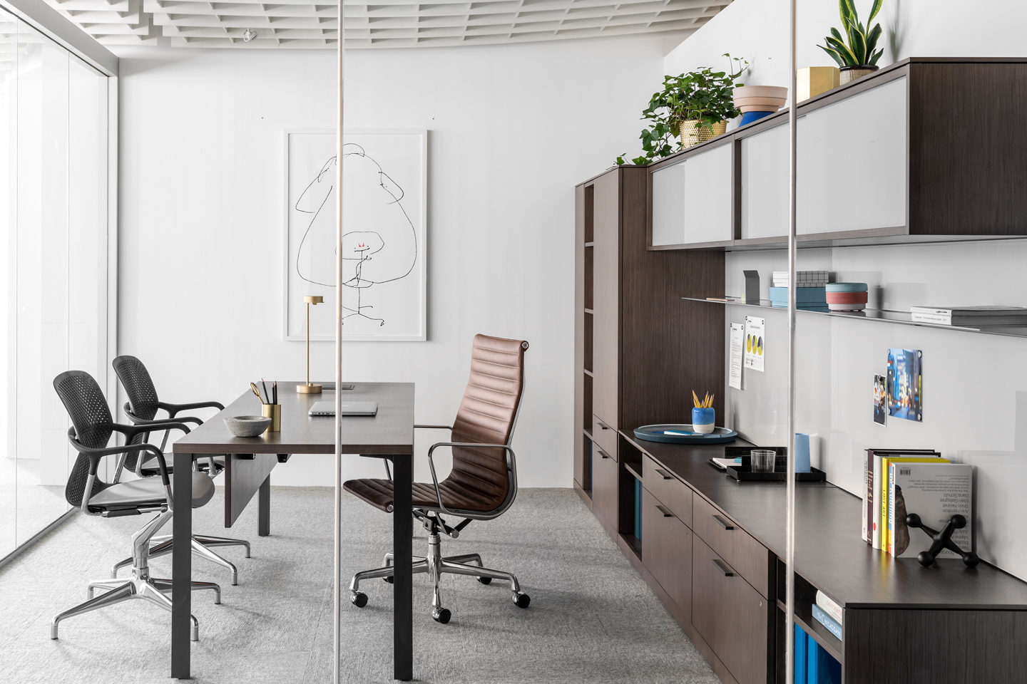 Office Environments private office space design