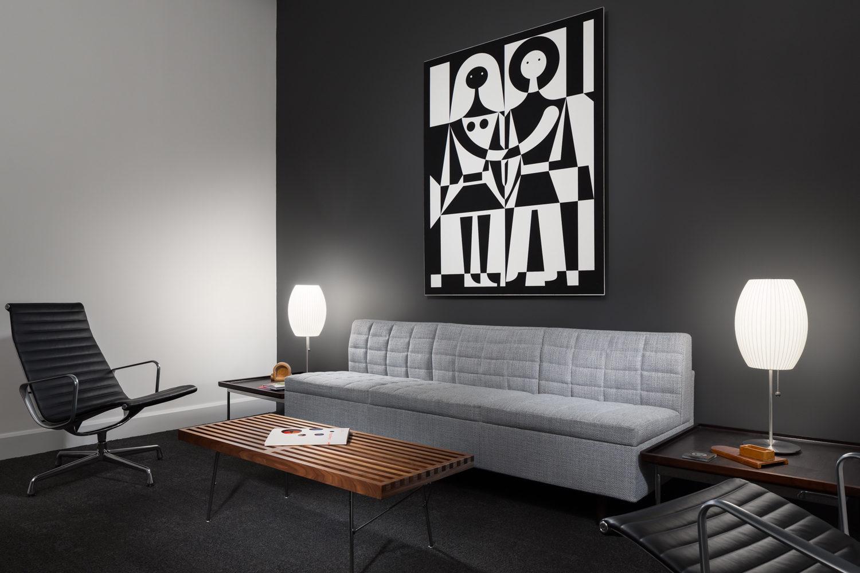 dark modern office