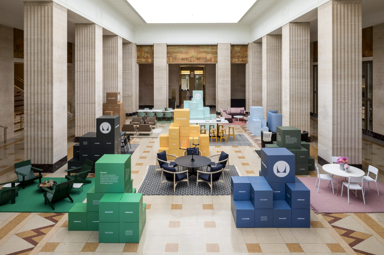 Herman Miller South Lobby NeoCon 2017