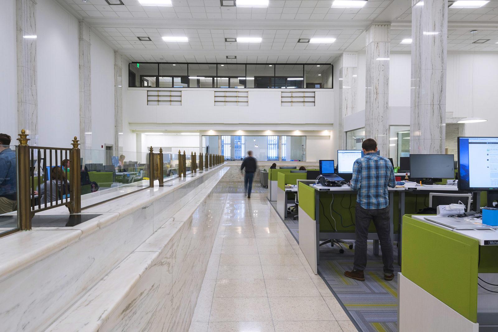 open office space in Shipt headquarters