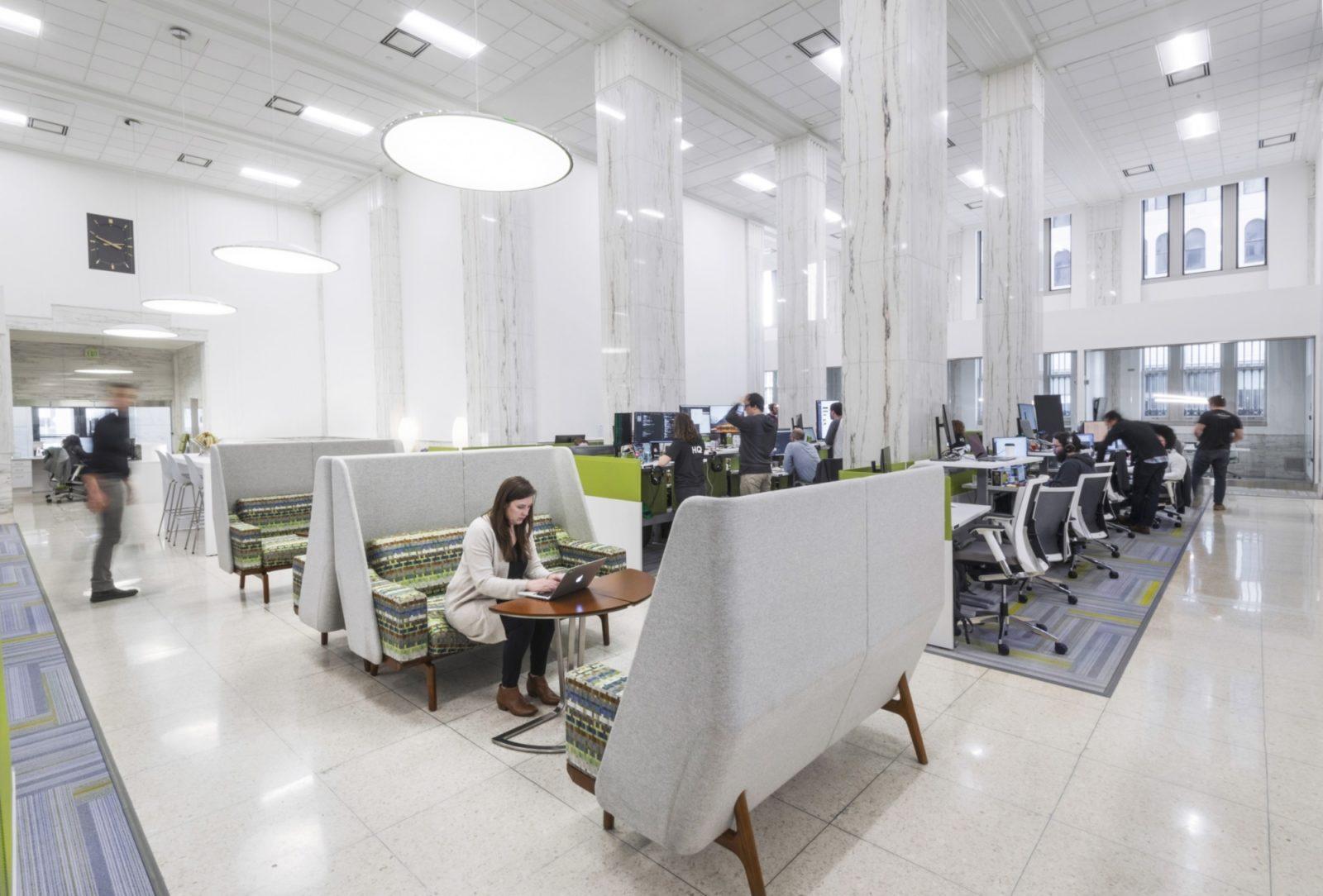open office floorplan