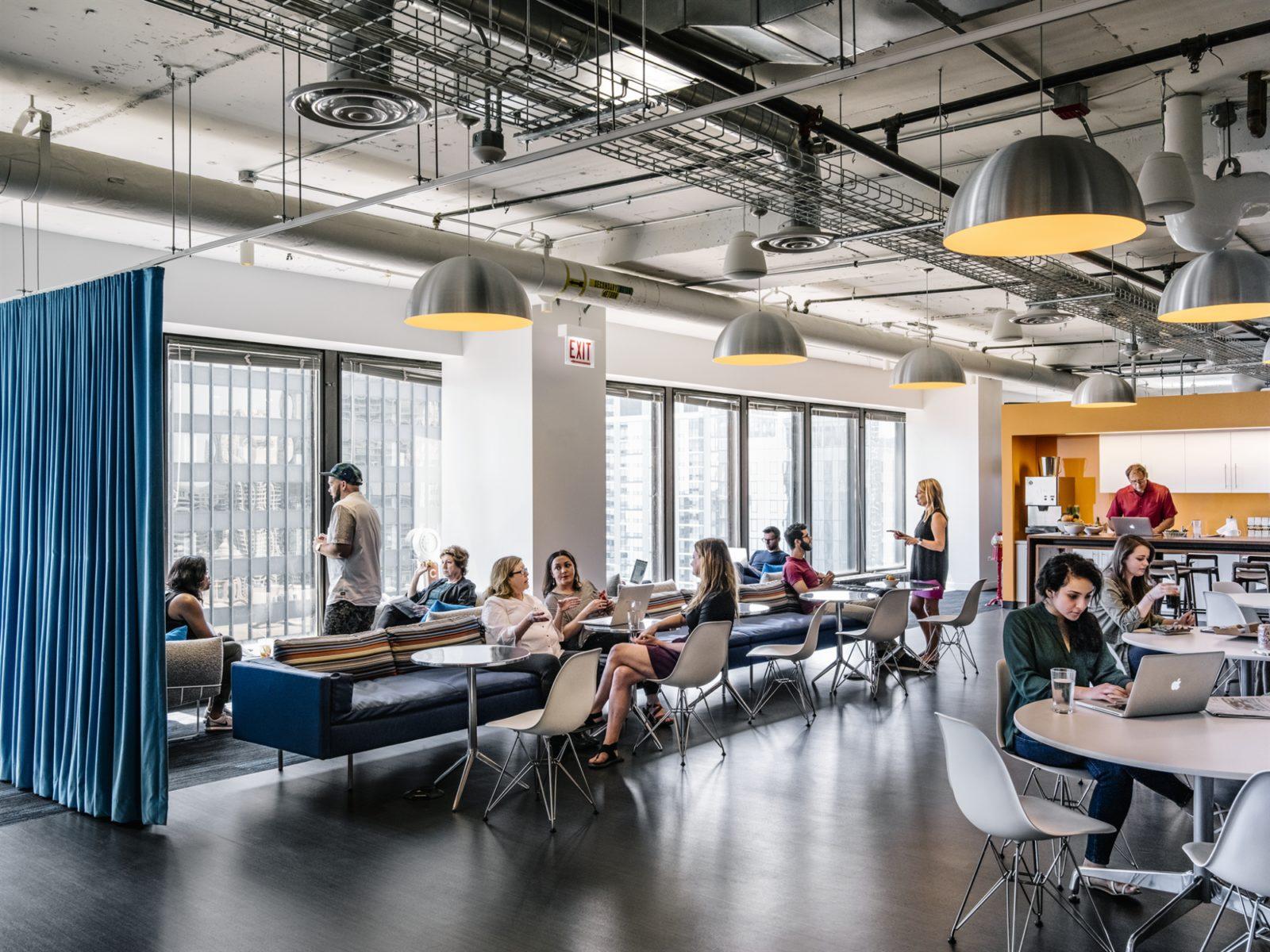 Herman Miller Living Office Open Office Interior Design