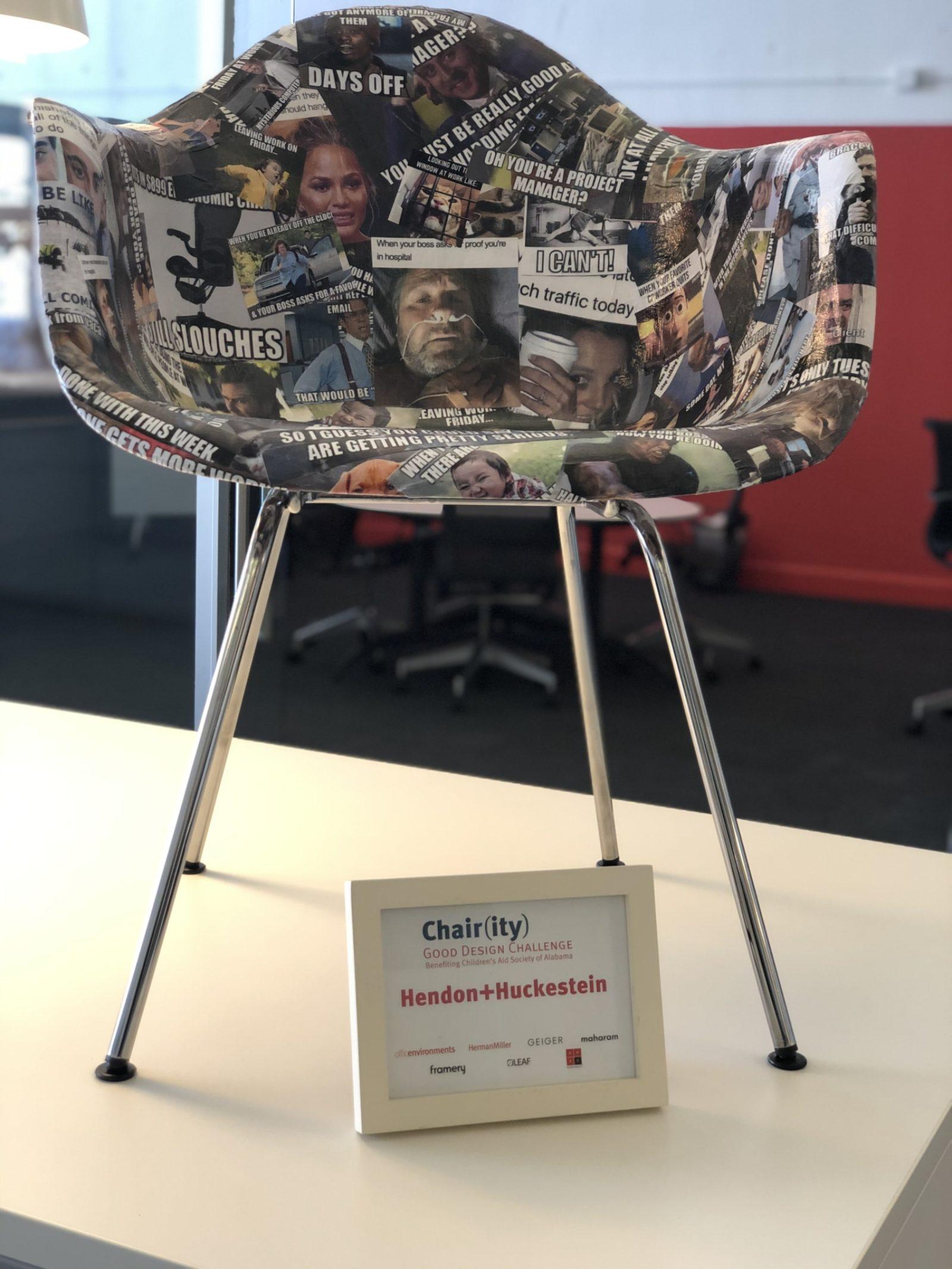 hendon chair contest