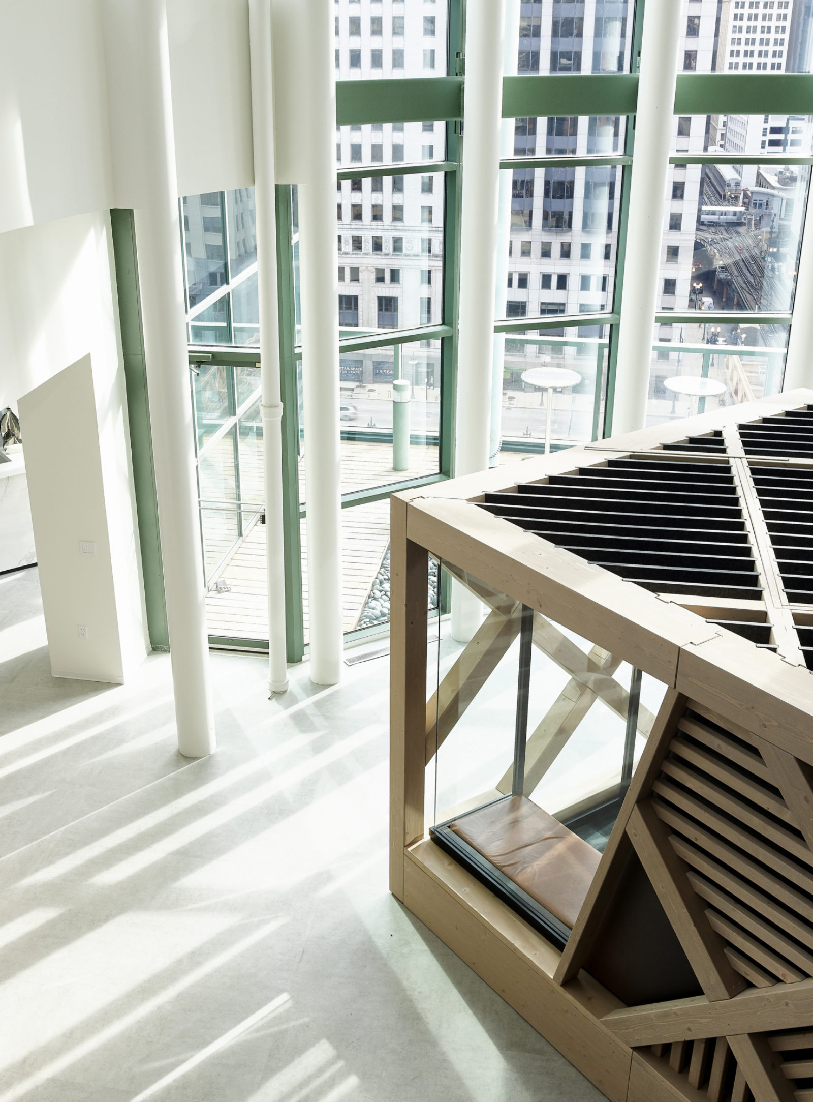 Chicago DXC off the grid design by Office Environments