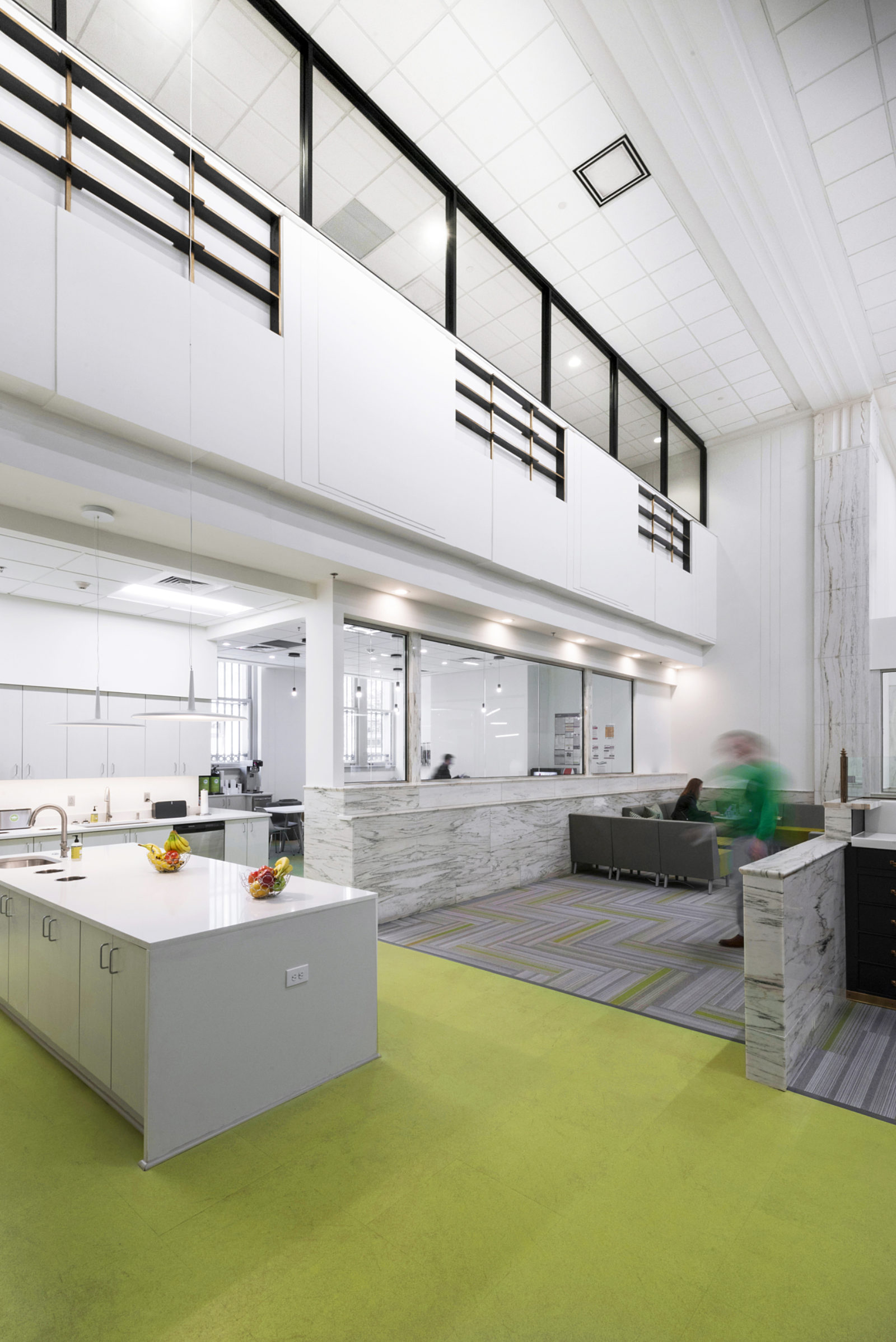 open office concept at Shipt headquarters