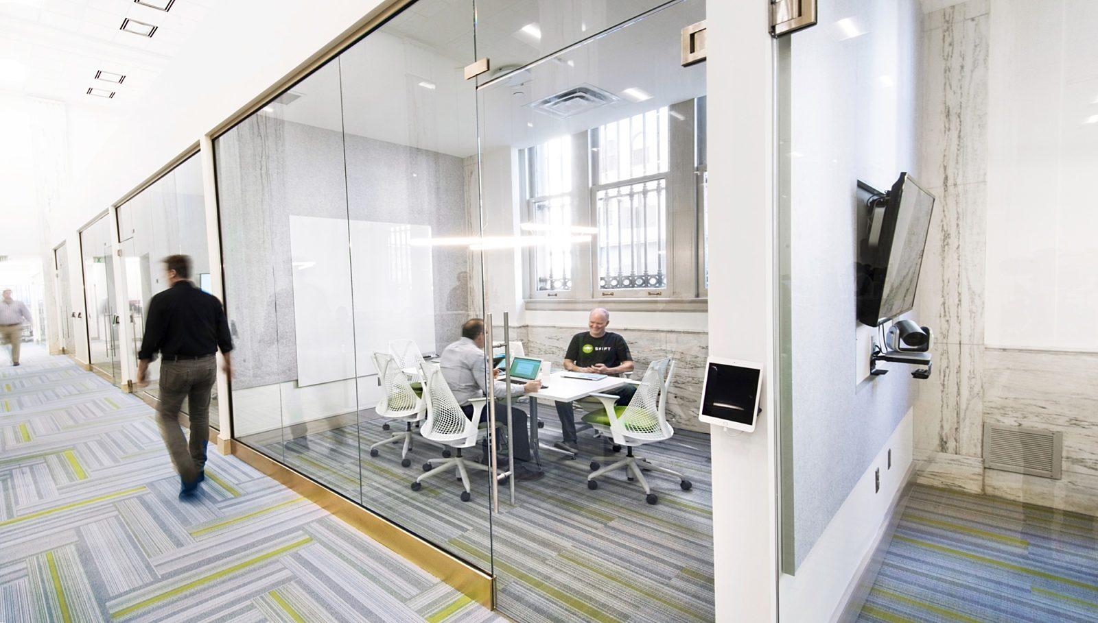 open meeting rooms