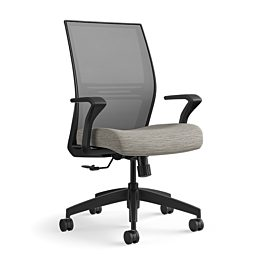 Amplify Task Chair with Nickel Mesh