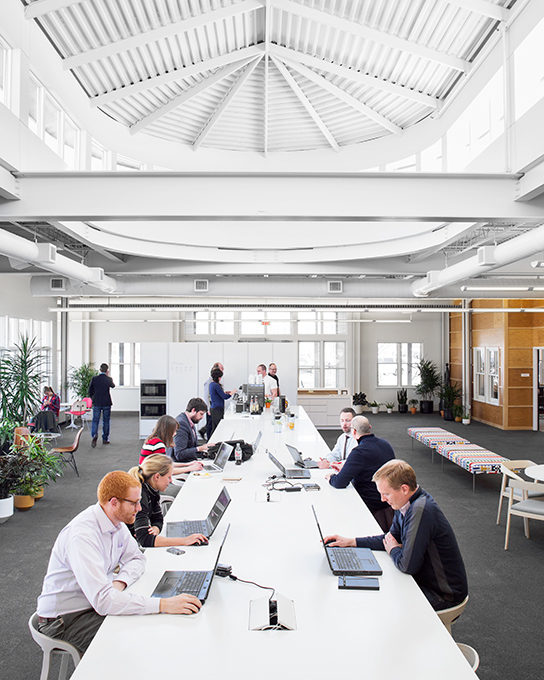 open office design by Office Environments
