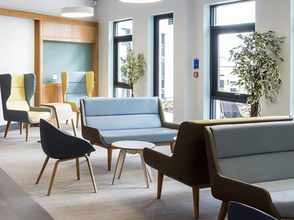 modern waiting area