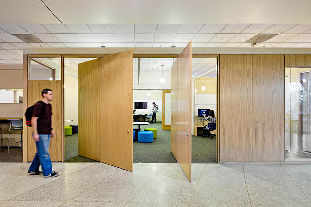 wall doors by office environments