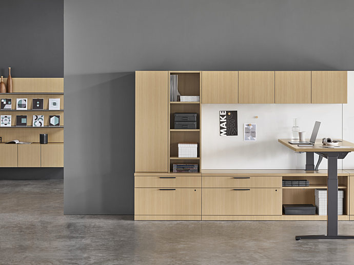 office cabinets by office environments