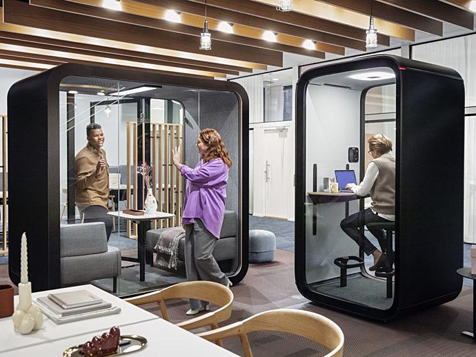 frame office pods