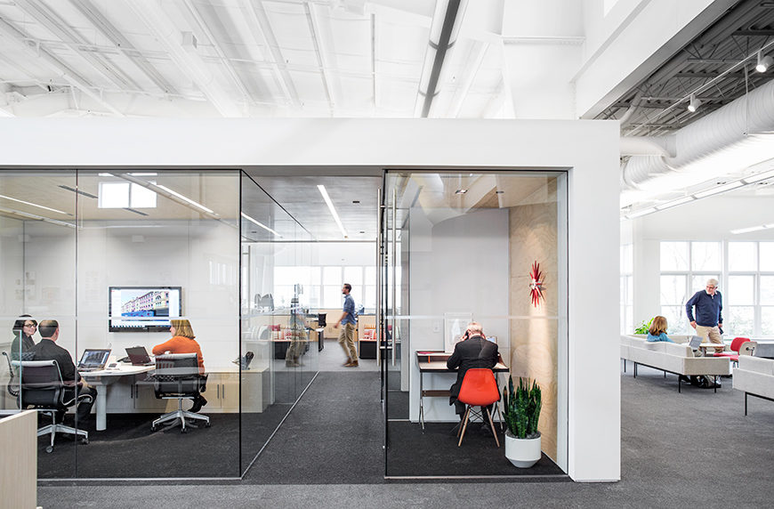 Herman Miller Design Yard. Open office furniture solutions from Office Environments.