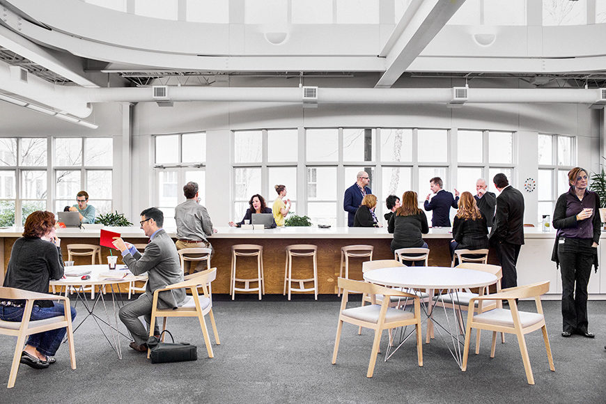 Open workspace by Office Environments